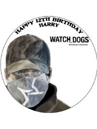 Watchdogs Cake Topper